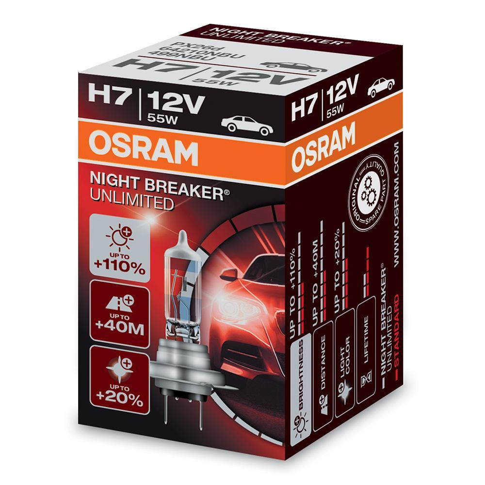 osram h7 12v 55w night breaker unlimited bbn e shop. Black Bedroom Furniture Sets. Home Design Ideas