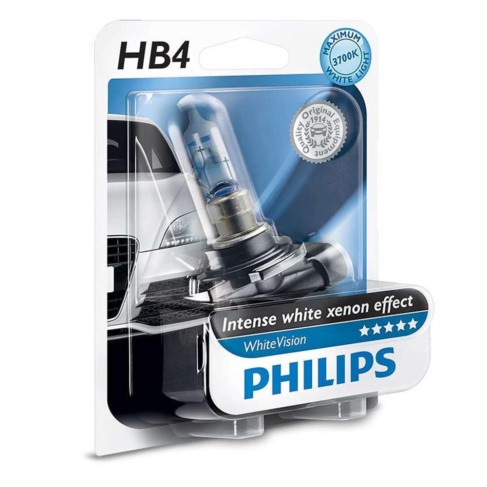 Philips 12v hb4 blue vision ultra bbn e shop