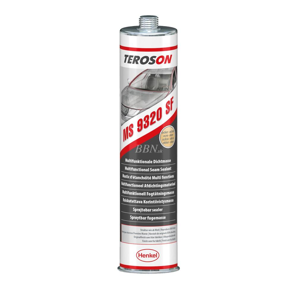 TEROSON MS 9320 SF CR SuperFast polymér 300ml oker 300ml 6 v 1 striekateľný