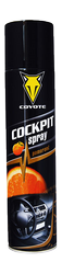 Coyote cockpit spray pomaranč 400ml