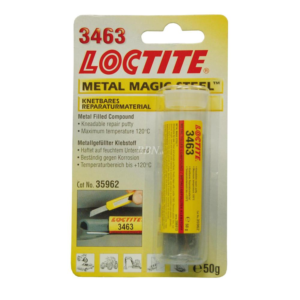 LOCTITE EA 3463 Metal Magic Steel, tyčinka  50g