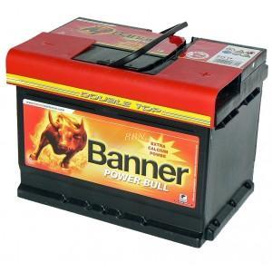Banner Power Bull  12V  62Ah 540A P6205