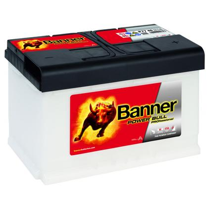 Banner Power Bull 12V 77Ah 680A P7740
